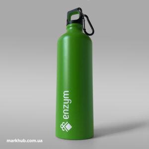 УФ-друк логотипа на кольорових пляшках для води