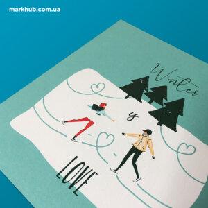Дизайн та виготовлення вітальних листівок