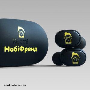 УФ-друк на бездротових навушниках