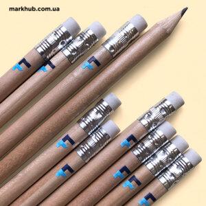 Ультрафіолетовий друк логотипа на дерев'яних олівцях