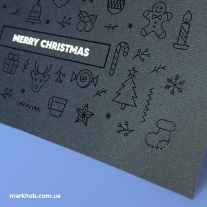 Друк та дизайн новорічних листівок
