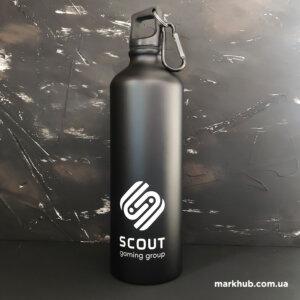 Пляшки для води з гравіюванням логотипа